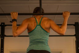 Behind-the-neck-pull-up-slutposition